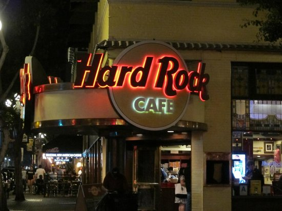 Hard Rock Cafe San Diego Ca