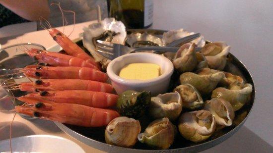 L'Angle Saint Laurent : Seafood starter