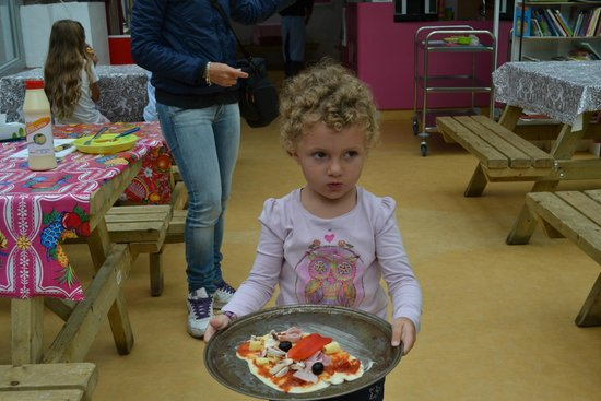 KinderKookKafe : Pizza Party