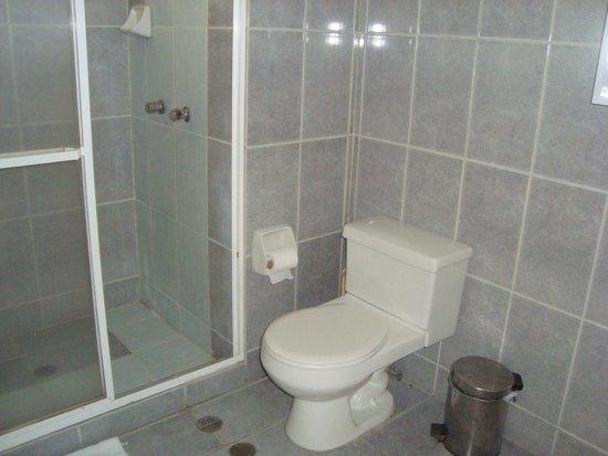 Costa Real Suites: Ducha y baño de la suite