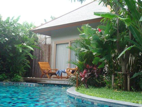 Metadee Resort and Villas: Pool access Villa