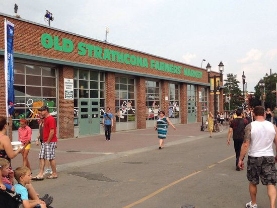 The Amazing Old Strathcona Farmers' Market