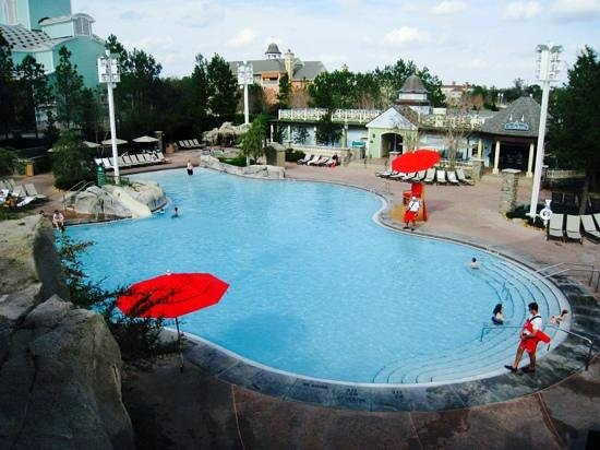 Disney's Saratoga Springs Resort & Spa: Magnifique piscine!