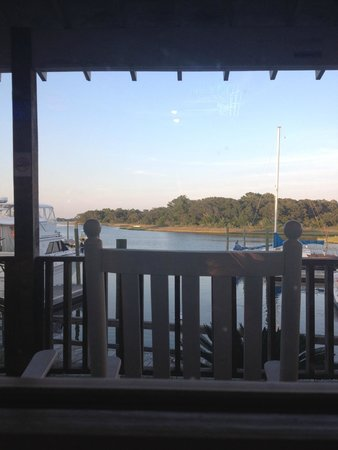 Sears Landing Grill & Boat : View from our table