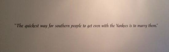 Mosby Museum: So True!
