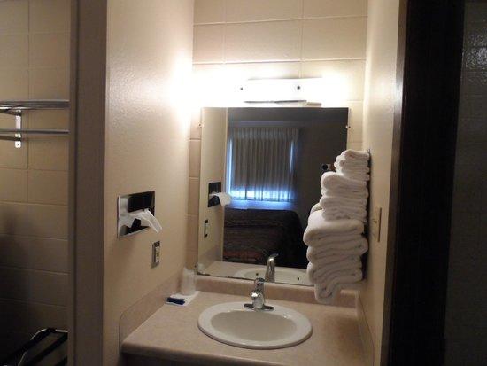 Bear Lodge Motel: Vanity