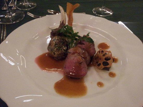 Nara Hotel: Lamb