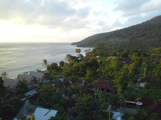 Baliku Dive Resort : What a view from our room