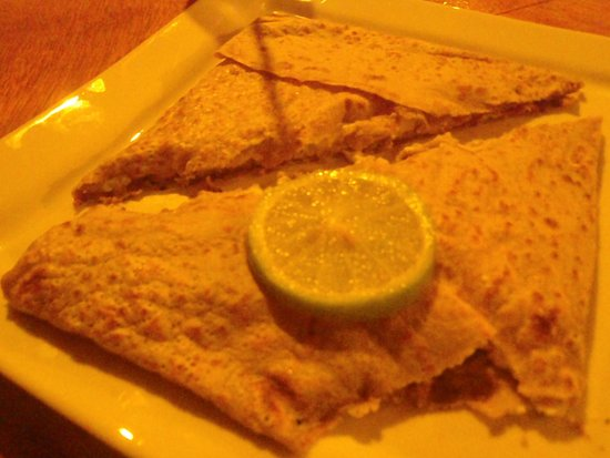 Toatea Creperie & Bar : Smoked fish crepe. Wifey said she liked it.