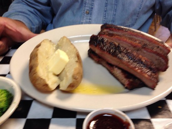 The York Chop: All you can eat ribs are the best!