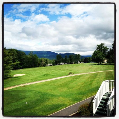 The Bethel Inn Resort: A view from our deck