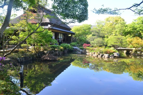 Reflection Of The House Picture Of Isuien Garden Nara