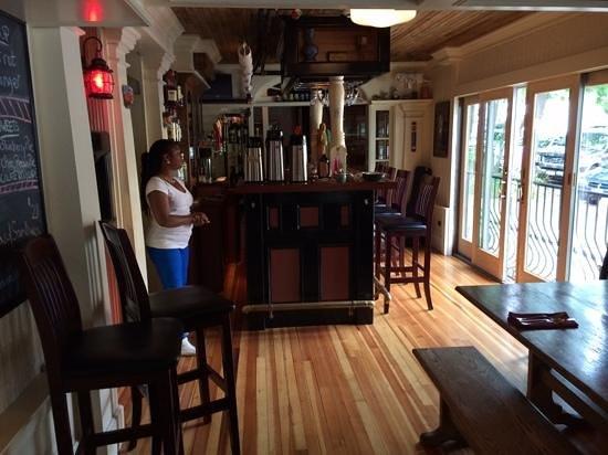 Black Friar Inn and Pub: Interior of restaurant at Black Friar