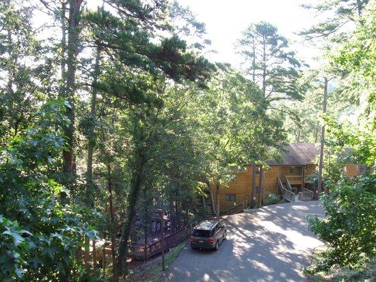 Mountain Harbor Resort & Spa: Below deck...