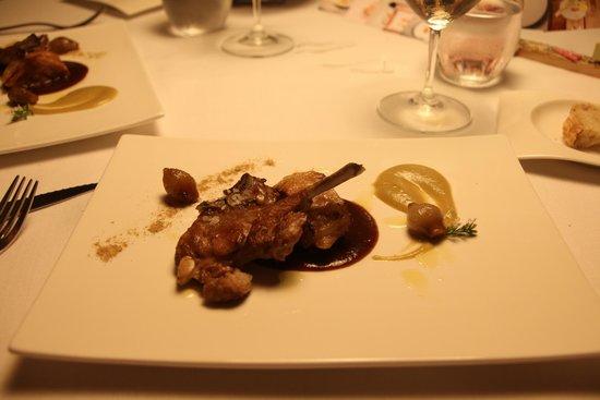 L'Estany clar: Plato del menu