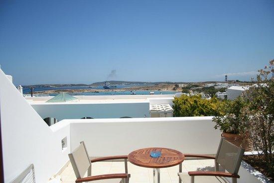 Stelia Mare Boutique Hotel: Balcony view