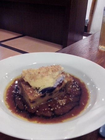 Calle Real Bistro: Bread Pudding