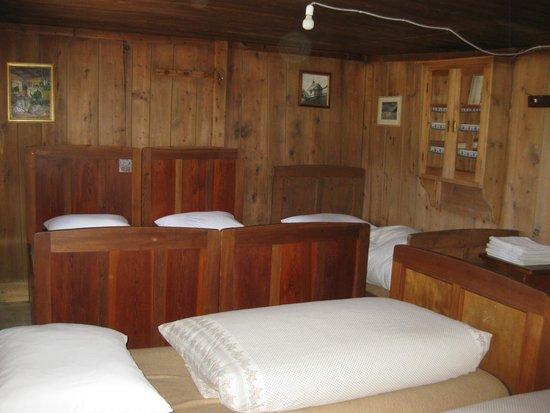 Rifugio Fodara Vedla: Large dorm room with 5 beds.