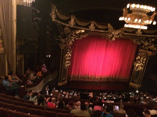 The Phantom of the Opera: From my seat