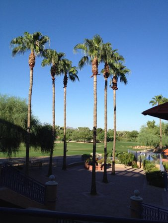 Scottsdale Marriott at McDowell Mountains: The golf view