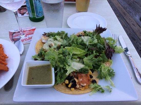 Persimmons Waterfront Restaurant: The Fish Tacos