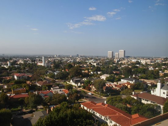 Hotel Palomar Los Angeles - Beverly Hills - a Kimpton Hotel: View from room....