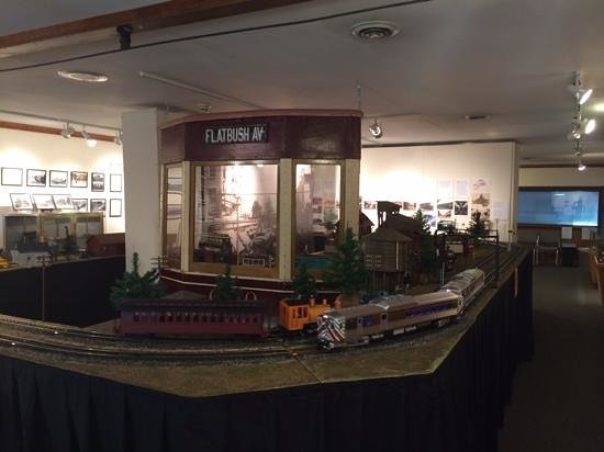 New York Trolley Museum: gift shop