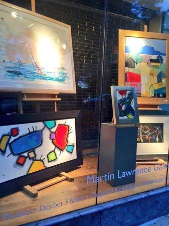 Newbury Street: Nice art galeries as well i. newbury