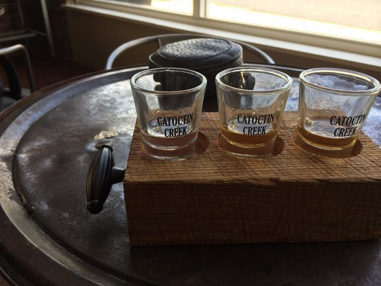 Catoctin Creek Distillery: Tasting with the new 92 proof.