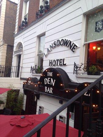 Lansdowne Hotel Ballsbridge: Entrada