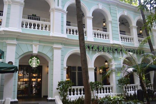 Shamian Island : Starbucks