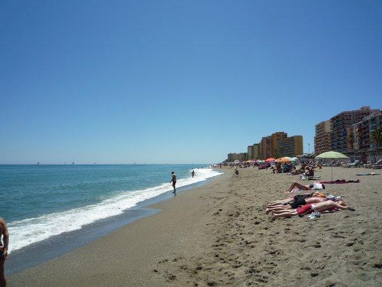 Los Boliches : ビーチ1