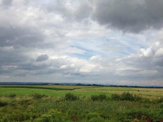 Grand Pré National Historic Site: Farmland view