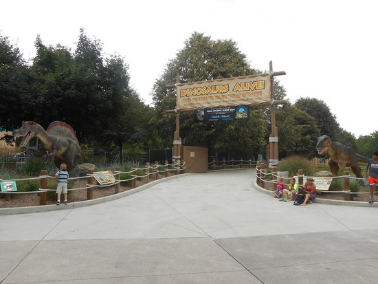 Dorney Park & Wildwater Kingdom: Dinosaur fun