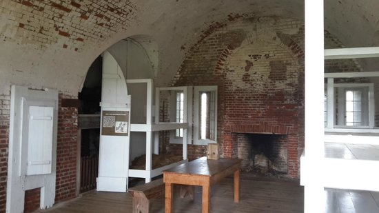 Fort Pulaski National Monument: Display room