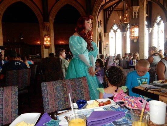 Cinderella's Royal Table: princess visit