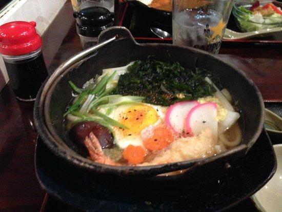 Dojima-Ann: Nabeyaki udon - perfect for a chilly San Francisco night!