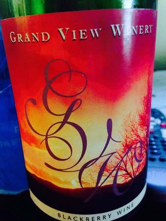 Grand View Winery: Blackberry
