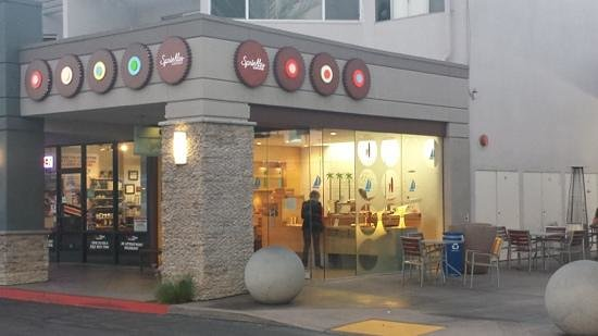 Sprinkles Cupcakes La Jolla : Outside, in same shopping center as Whole Foods.