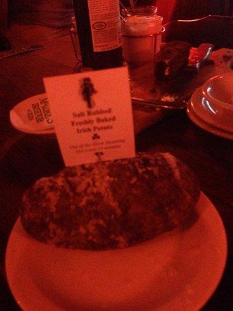 McGuire's Irish Pub: Fresh potatoes!