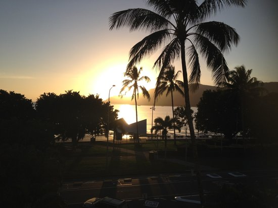 DoubleTree by Hilton Hotel Cairns: View from the balcony