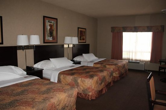 Ramada Drumheller Hotel & Suites: 3 Beds!