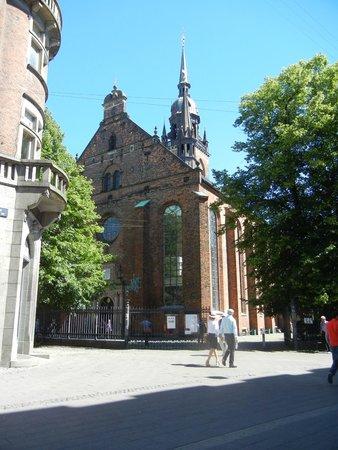 Strøget : Helligaands Kirken (Church of the Holy Spirit).