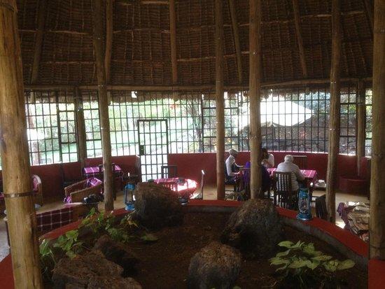 Maili Saba Camp - Nakuru: Main Lodge