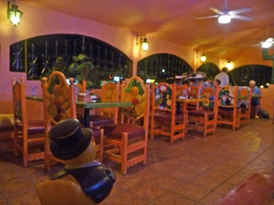 Fiesta Mexicana: The outdoor seating