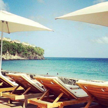 Sandals Regency La Toc Golf Resort and Spa : Ocean View from Main Pool