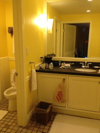 Paradise Point Resort & Spa: Outdated Bathroom