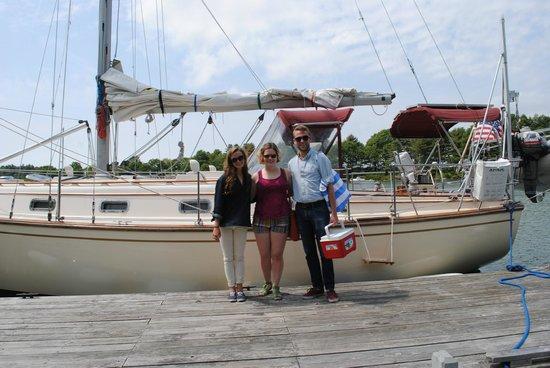 Sail Casco - Tours: Ready to board!