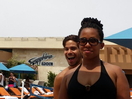 Las Vegas Club Crawl : Enrique - nice photo bomb lol thanks for a great time at the pool crawl. If I could do it yearly