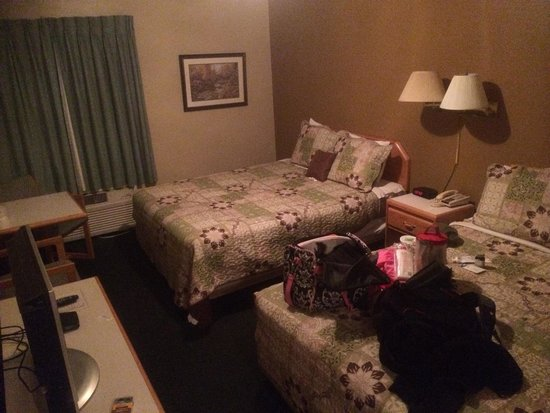 Mountain View Inn: Basic room- looks good to me!